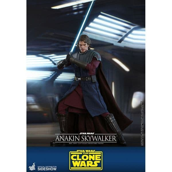 *PRE ORDER* Hot Toys 1:6 Star Wars Anakin Skywalker The Clone Wars